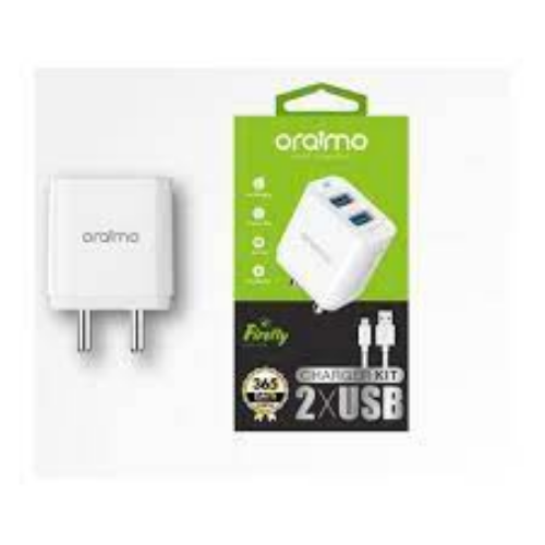 ORAIMO 2 .4A FASTER FOR TWO CHARGER U63D