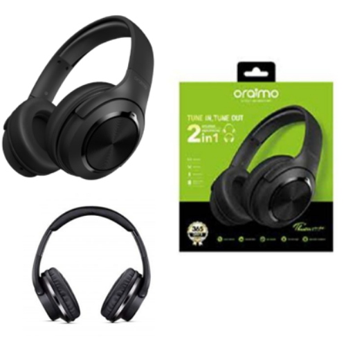 ORAIMO TUNE,TUNE OUT 2IN1 HEADPHONE H85D